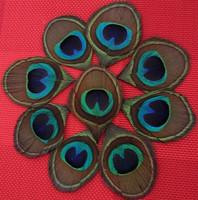 100PCS/lot  Trimmed Peacock Eye Feathers with 4.0cm Eye Lot Wedding Invitations Hair bulk wholesale