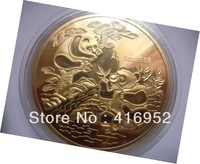 Great Chinese panda commemorative big gold coin year 1994