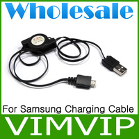 20Pcs/Lot Free Shipping Stretch Line USB Charger Cable For Samsung Galaxy Series Phone+Wholesale
