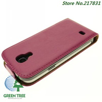High Quality Leather Case Cover For Samsung Galaxy S4 Mini I9190 Cases Phone Case Free Shipping 10pcs/lot