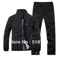 HOT Free shipping sale Sport suit male sportswear jackets casual sportswear two piece set size L-4XL