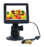 3.5 Inch Small TFT LCD AV  Monitor For Security CCTV Camera and car DVR with AV free Shipping