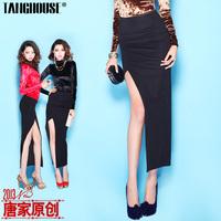 Fashion summer women's 2013 new arrival fashion sexy high vent slim hip skirt bust skirt