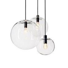 cheap glass ball pendant light