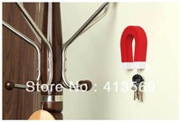 Wholesale U-Shaped Wall Mounted Key Magnet in Various Colors,Key Rack