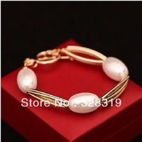 New Recommended! Hot Sale Korean Fashion Authentic European And American Popular Style Big Pearl Bracelet