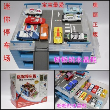 Alloy car toy mini barrowload storage box