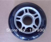 Freeshipping Slalom Inline Skating Wheel 80mm, The Cheapest Freestyle Skates PU Wheels