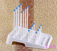 Free shipping Baby bottle drying rack holder for baby bottles rack dryer folding