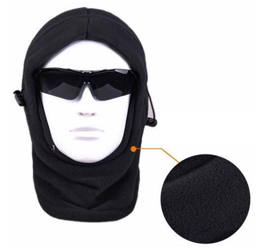 Fleece Ski Mask Hat Hood
