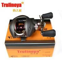 Free shipping Fishing reel Bait baitcasting fishing reel Right hand Trulinoya TR120RB One-way+10ball bearings 6.3:1 Gear Ratio