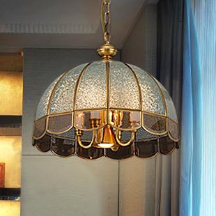 Copper pendant light fashion pendant light lamps splder lighting lamps dome light