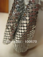 Aluminium Sequin Mesh for Table Cloth