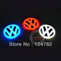 lastest type,car logo light for VW,car badge light,auto led light,auto emblem led lamp free shipping