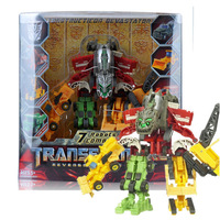 7 in 1 Original package Robot Movie 2 Revenge Of The Fallen ROTF Construction Devastator Legend Class Figure