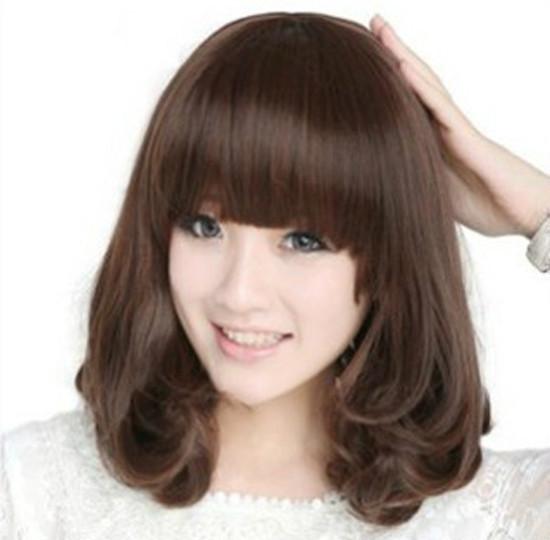Cute Korean Hairstyles For Medium Hair Hot Korean Style Shoulder