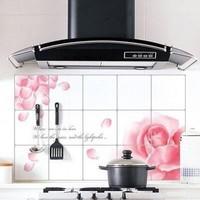 75*45 Kitchen Aluminum foil high temperature resistant oil sticker   HQS-Y28276