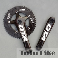 bicycle accessories Ota crankset cnc aluminum alloy single 7075 46 48t crank crankset