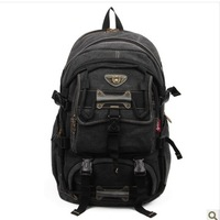 Hot selling Terylene multifunctional aerlis canvas man bag outside sport hiking casual double-shoulder 90473 travel bag  fashion