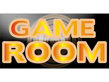 Bn737 Game Room Entertainment Pop Comfortable Modern Fabulous Design Banner Sign