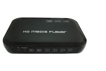1080p Full HD Media Player IN SD/USB Reader Output HDMI/VGA/AV FLV MKV Music
