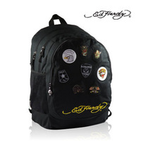 Ed hardy bag terylene steller's backpack trend personality casual bag bags travel bag  new