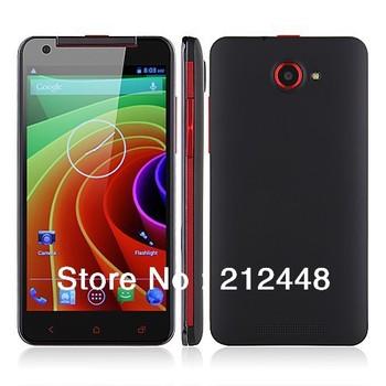 """Case free! Star x920e black MKT6589 quad core, 5.0"""" QHD screen,960*540,1GB RAM+4GB ROM,Dual SIM,GPS,Android 4.21, Free ship"""