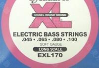 3pcs/lot Electric bass strings patrizia d' electric bass strings exl170 set string