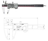 300mm digital caliper