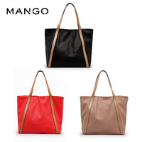 Mango spring and summer handbag one shoulder female bags shopping bag , mng , soft surface