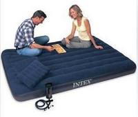 Original 68765 intex inflatable mattress single double scourability air bed air bed outdoor mattress air bed