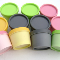 50g Plastic Frosted Cosmetic Mask Cream Packing Jar Bottles,Hairdressing Gel Treatment Ointment Jar Box