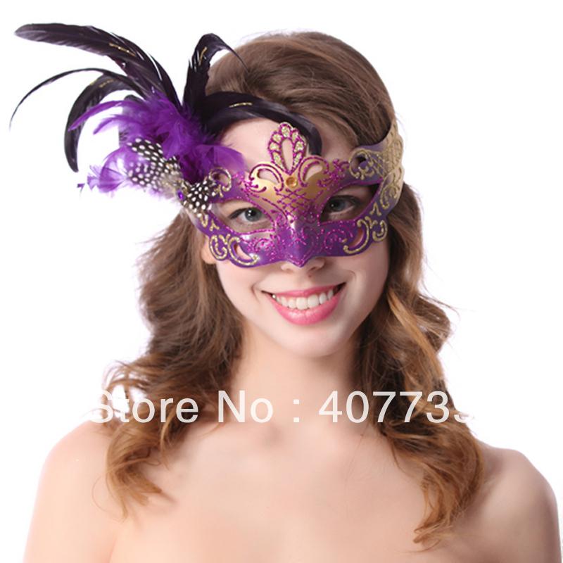 Маска для карнавала женская