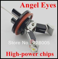 NEW!Free shipping wholesale H8 6W LED Angel Eyes X5 E70 E92 E93