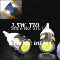 HK Post Free Shipping  20pcs/lot White T10 194 168 192 W5W 2.5W 4Led Super Bright Auto Led Car Lighting 12V Lamp Bulb  Lights