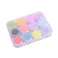 TTDeals 12Mix Colors Nail Art Decorations Acrylic Powder Free Shipping Wholesale