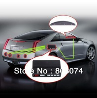 Free shipping Car LED Parking Reverse Backup Radar System with Backlight Display+4 Sensors 6 colors
