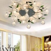 New design best selling Lots Of Stock luxury crystal ceiling chandelier light D80* W17cm,15ribs