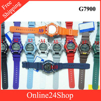 11colors New Version g 7900 watch wristwatch g-7900-3D digital watches 50pcs/lot DHL/EMS Freeshipping