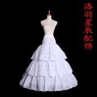 Accessories slip ring pannier slip ring wedding dress quality fabric