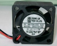 2.5CM DFS251012M 2510 12v 0.1a cooling fan