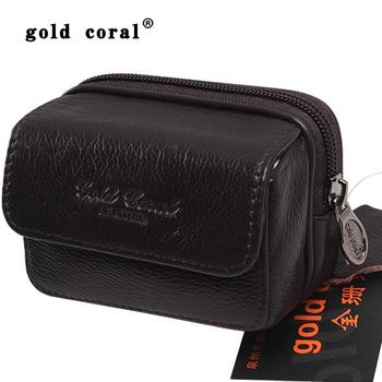 Waist pack male waist pack cowhide waist pack casual waist pack mobile phone bag mobile phone case 3133