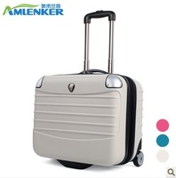 16 horizontal small trolley luggage trolley women's suitcase ultra-light 17 luggage travel bag