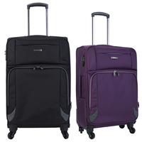 Wanlima universal wheels trolley luggage travel bag luggage 20 24 vintage