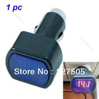Free Shipping Digital LED Car Truck System Battery Voltmeter Voltage Gauge Volt Meter 12V 24V