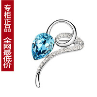 Quality austria crystal brooch flickered women's all-match brooch accessories gift