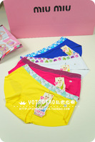 free shipping Summer candy color a millenum slice seamless high quality seamless young girl panties