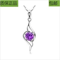 Gift austria crystal necklace female short design necklace