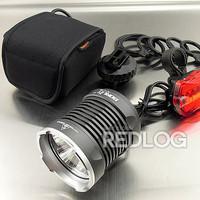 12800 mAh Battery pack 4x CREE XM-L T6 LED 6500 Lumen Cycling Head Front Bike Bicycle Light Lamp HeadLamp HeadLight+Rear light