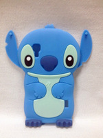 Lovely Stitch 3D Silicone Case For .LG E460 Optimus L5 II High Quality Cell Phone Case Silicone